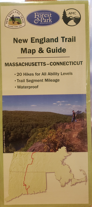 New England Trail Map & Guide by Appalachian Mtn. Club & CT Forest & Park Asso.