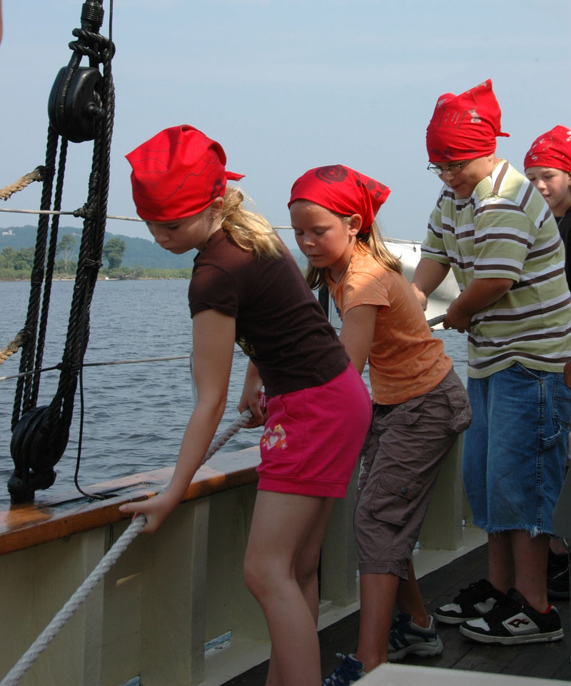 Sailing into the Past - July 6 - 10 (ages 12-15)