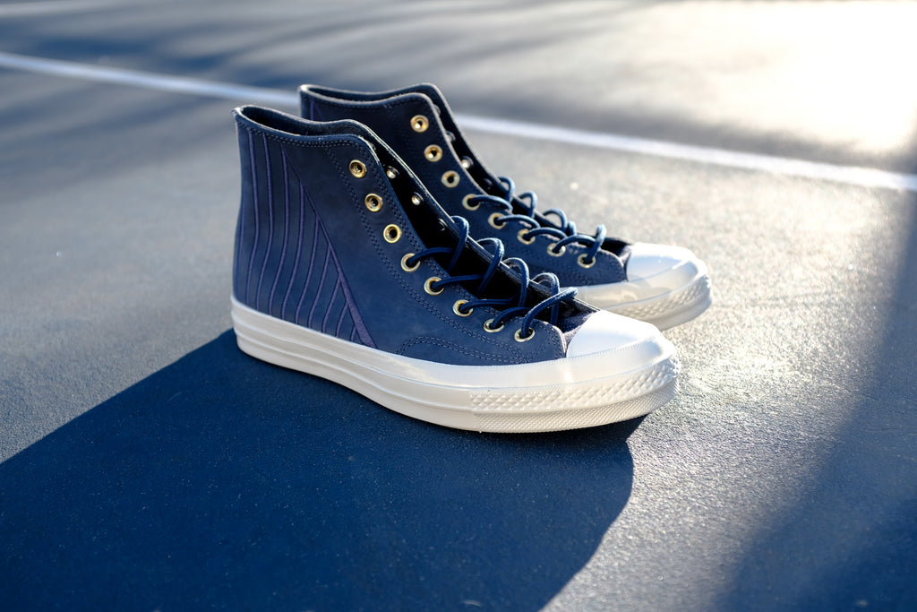 ae013bad4bb2 Converse x NBA Golden State Warriors Legend Chuck Taylor All Star 70 Hi.  Insignia Blue