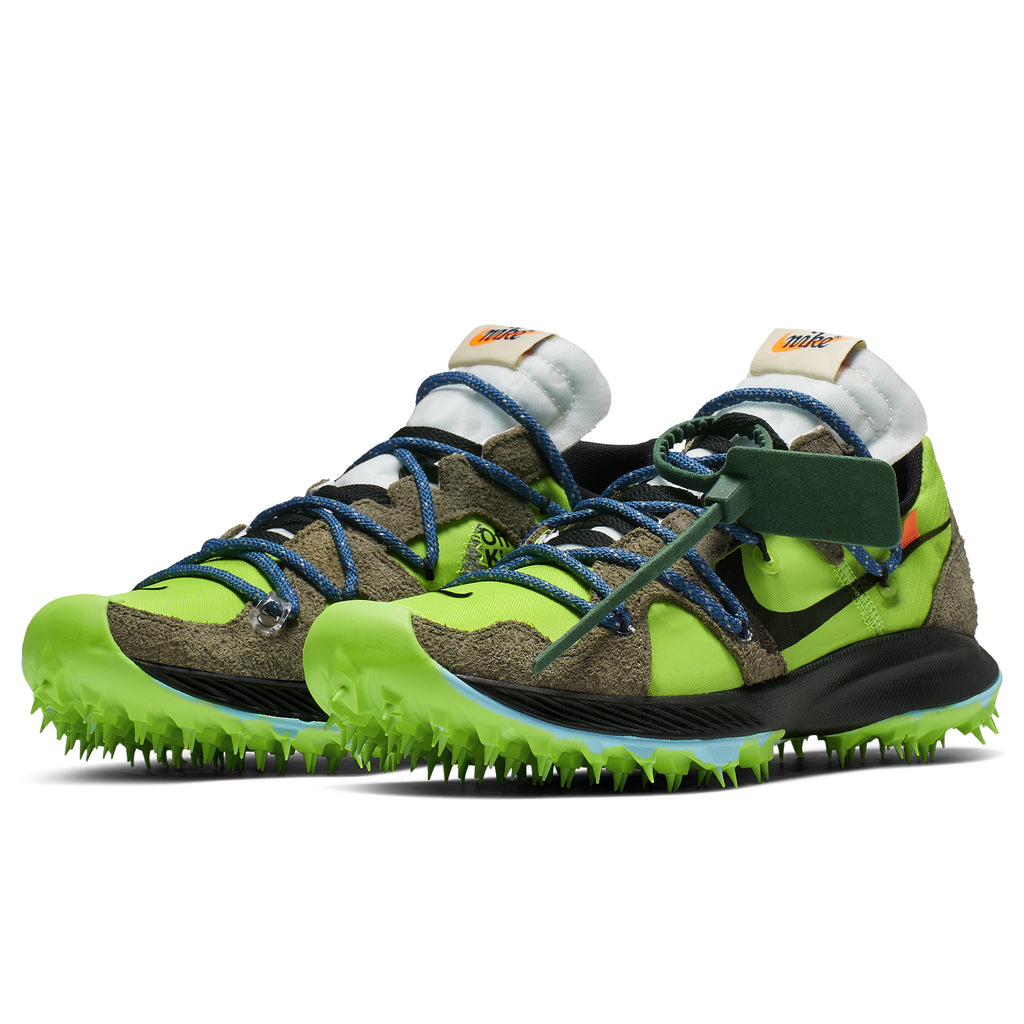 754270d0796a We will be receiving the Nike x Off-White Zoom Terra Kiger 5 Electric Green  in Womens Sizes on Monday June 24th, 2019.