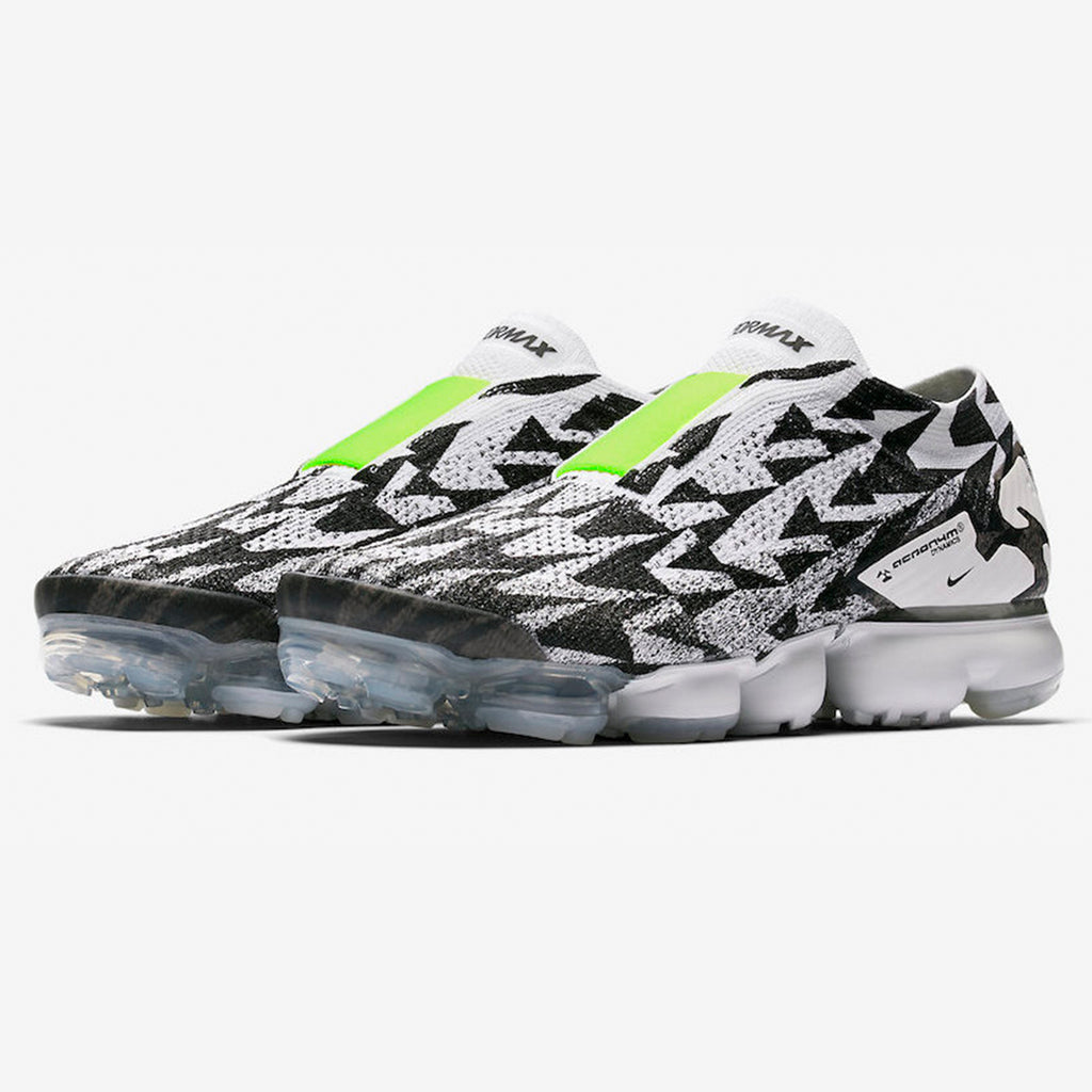 5cd59c1397 The Nike Air Vapormax FK Moc 2 Acronym is available in Light Bone, Volt,  Light Bone. Style Number: AQ0996-001