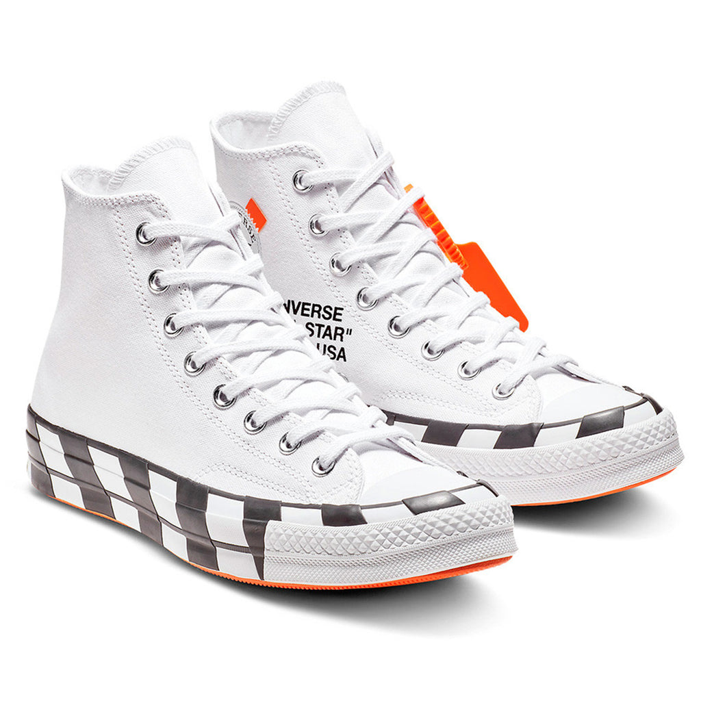 7d588a1ea3c ... 1970s Chuck Tay Lor Canvas Running Shoes  brand new We will be  receiving the Converse x Off-White Chuck Taylor All Star ...