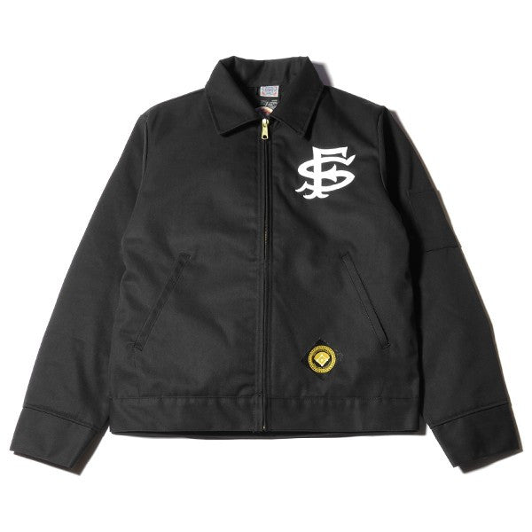 The Darkside Initiative - The Darkside Initiative x Ebbets Field Flannels Grounds Crew Jacket