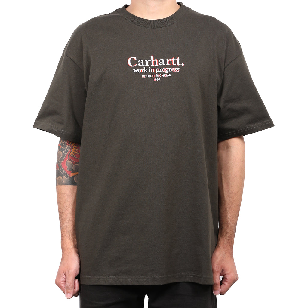 Carhartt WIP S/S Commission T-Shirt Cypress