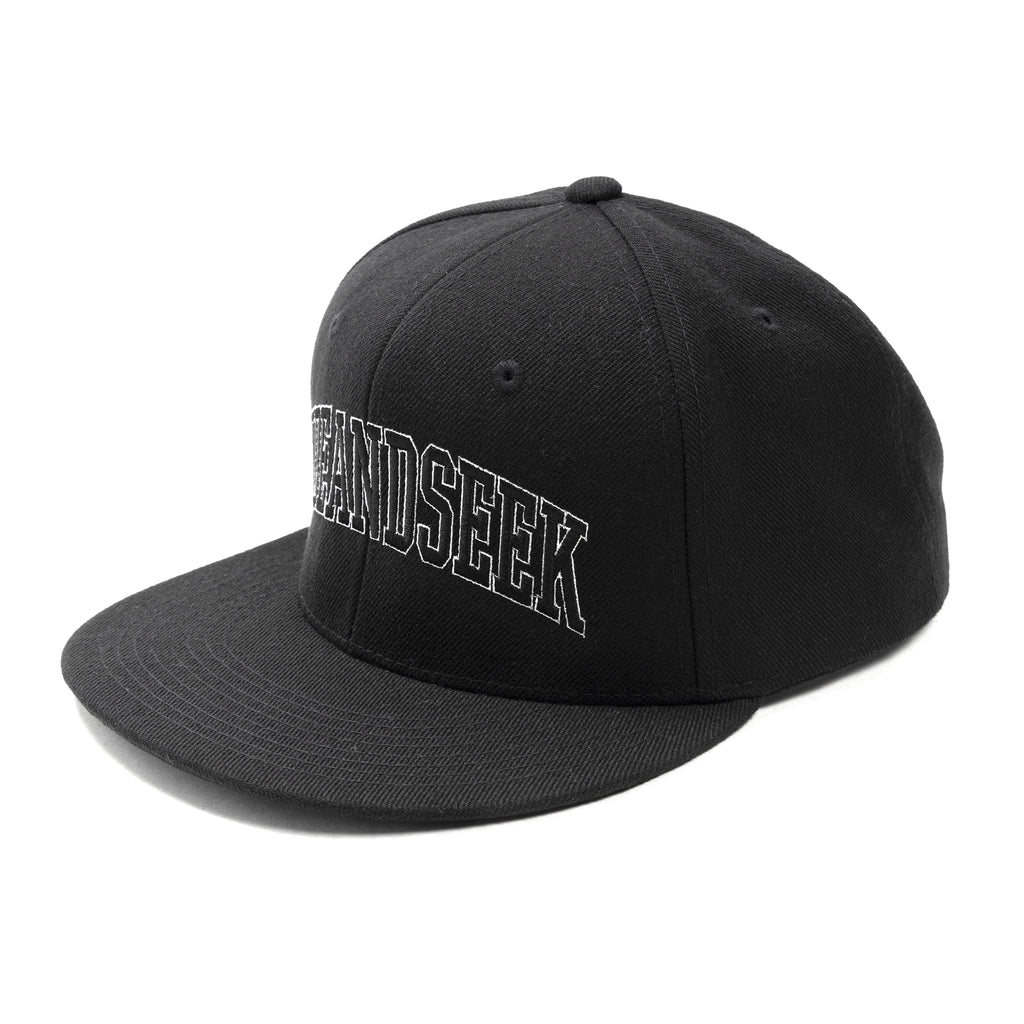 Hide and Seek Baseball Cap Black