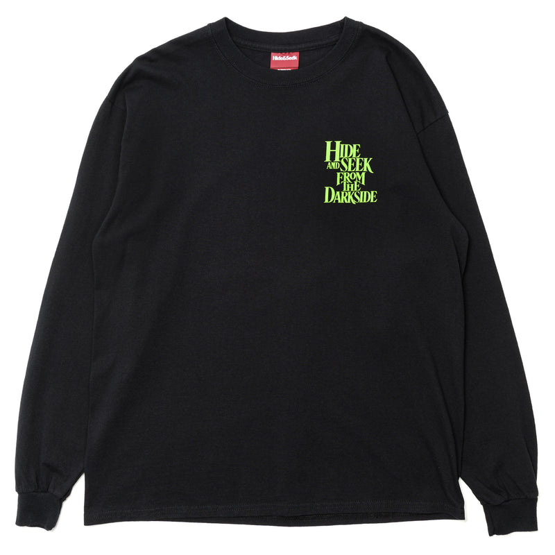 Hide and Seek From the Darkside L/S Tee Black Green