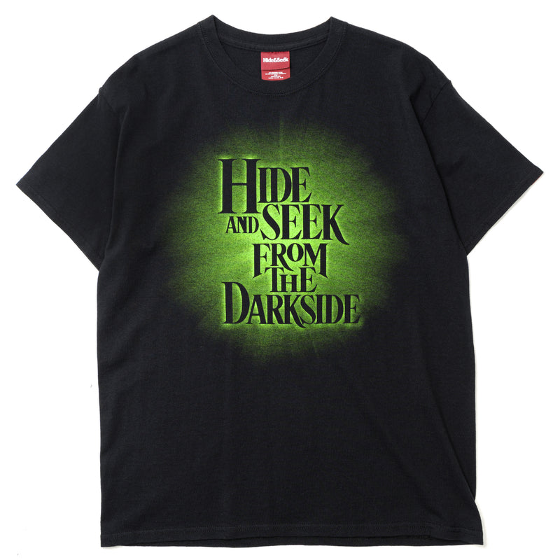 Hide and Seek From the Darkside S/S T-Shirt Black Green