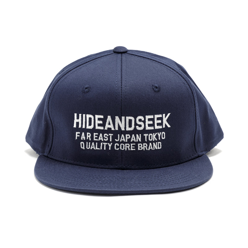 Hide and Seek Logo Baseball Cap Navy