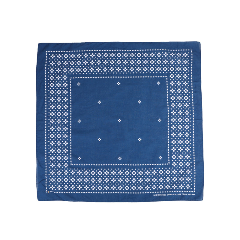 Neighborhood Dot Bandana Navy