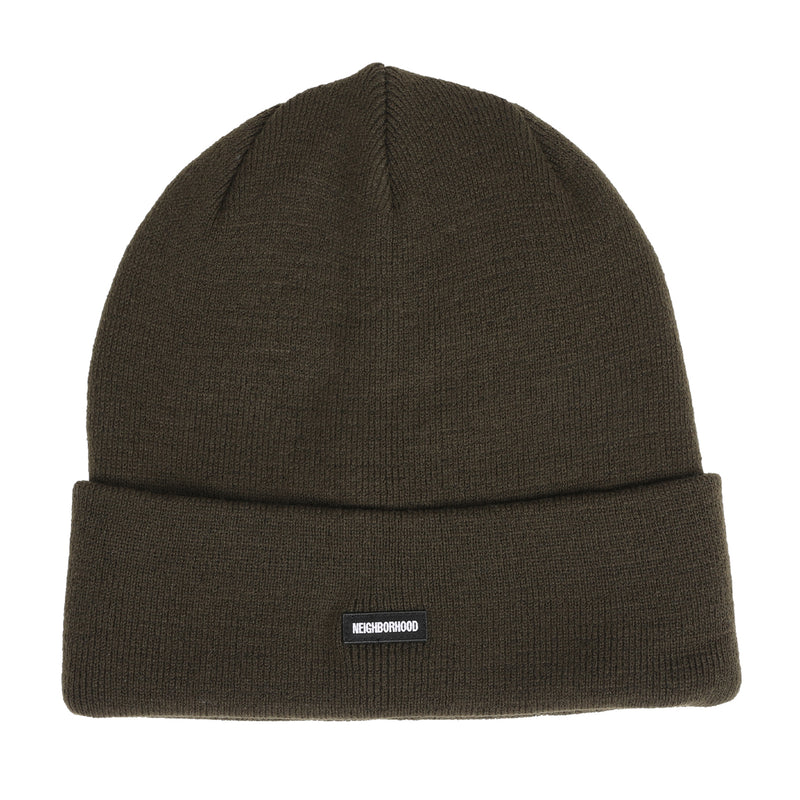 Neighborhood CI Beanie Olive Drab