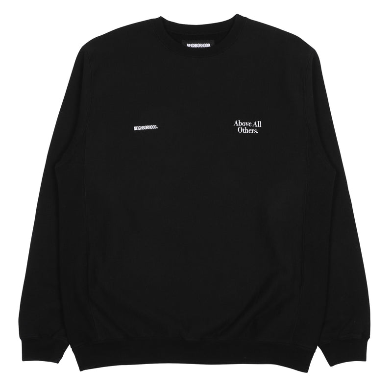 Neighborhood Jersey Sweatshirt Black