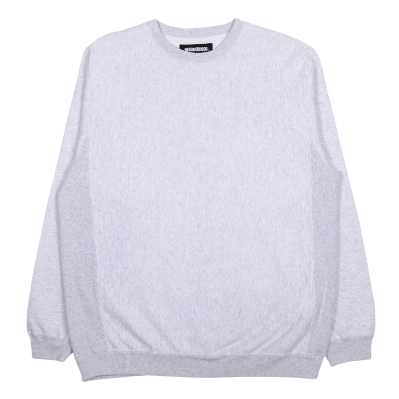 Neighborhood Jersey Sweatshirt Gray