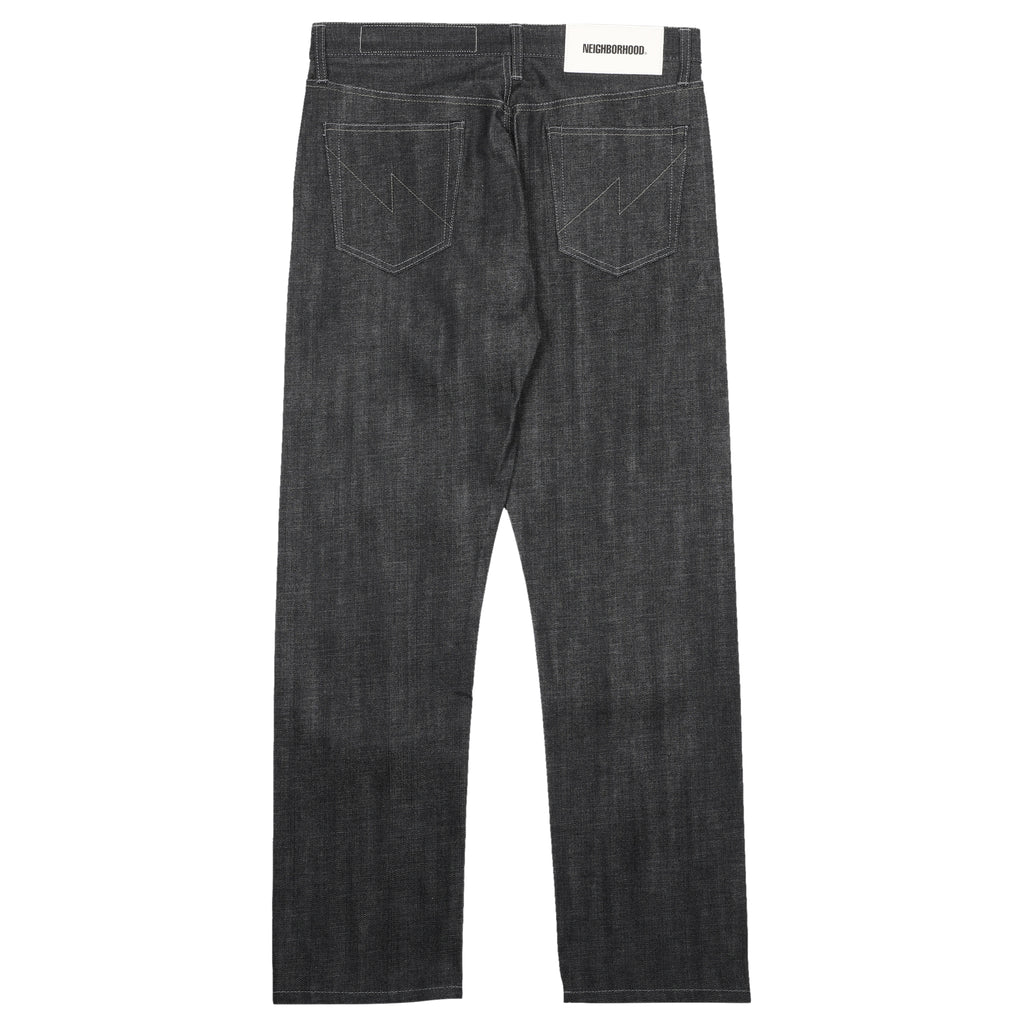 Neighborhood Rigid Denim Mid Pants Black