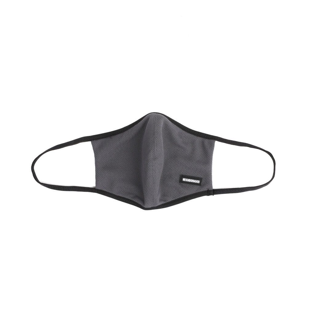 Neighborhood Guardian Face Mask Gray