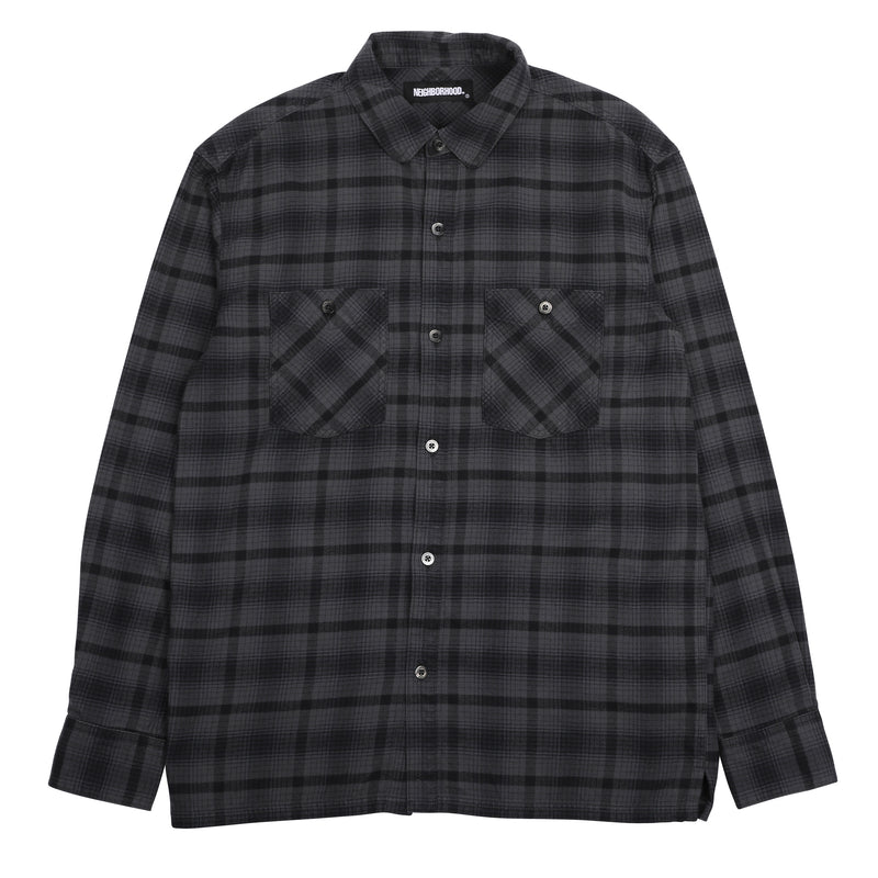 Neighborhood Logger L/S Shirt Black