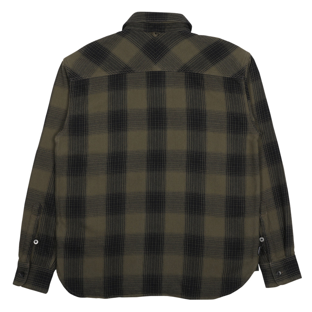 Neighborhood Lumbers Long Sleeve Shirt Olive Drab