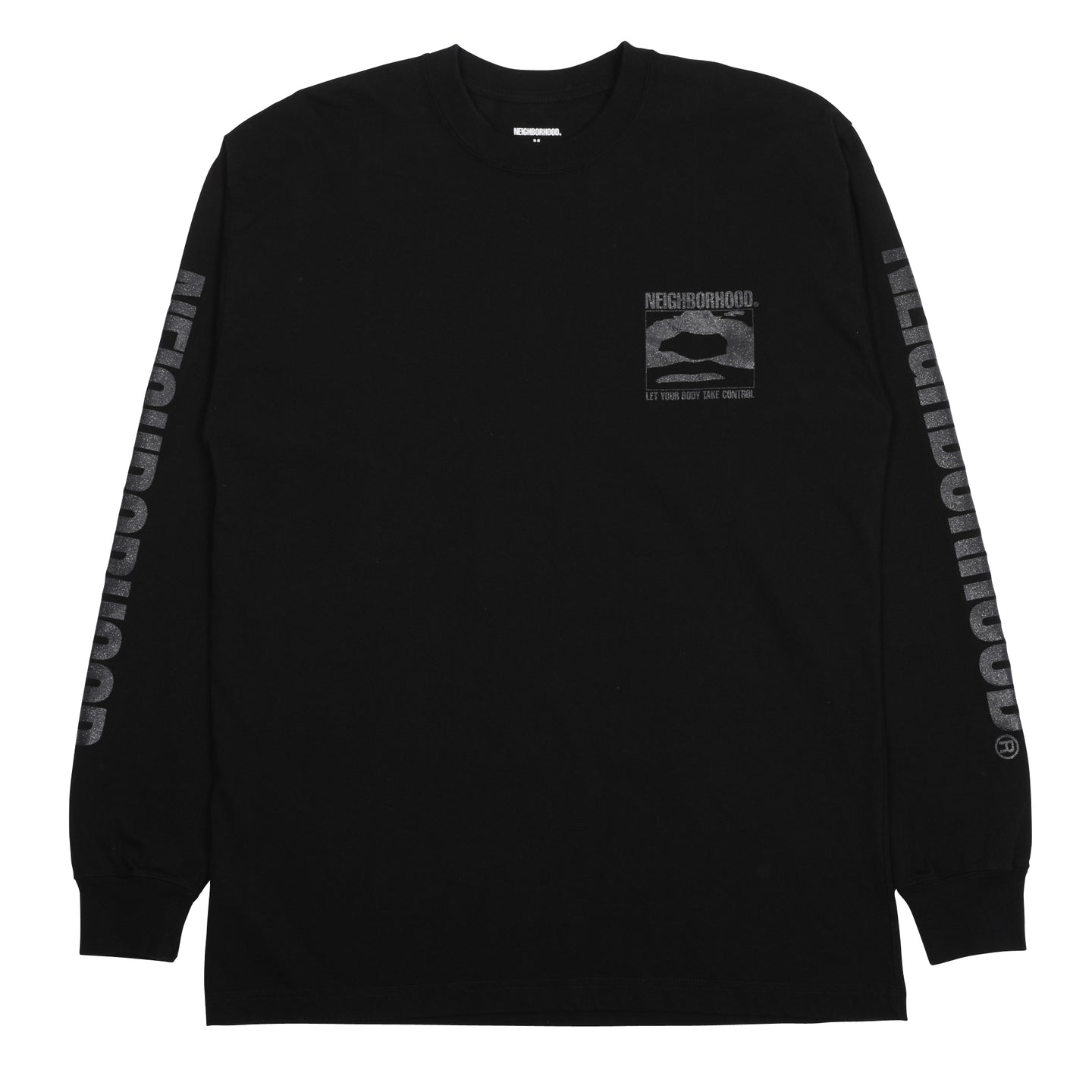 Neighborhood God LS T-Shirt Black