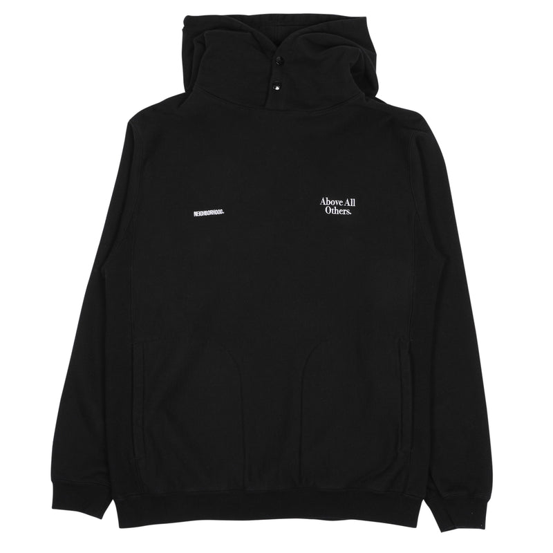 Neighborhood Jersey Hooded Sweatshirt Black