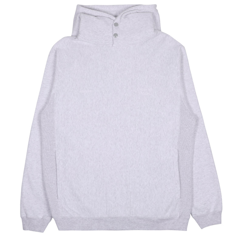 Neighborhood Jersey Hooded Sweatshirt Gray