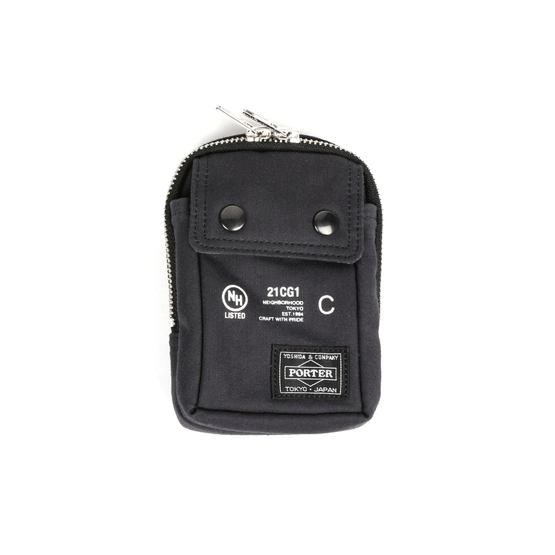 Neighborhood NHPT Multi Pouch Case Black