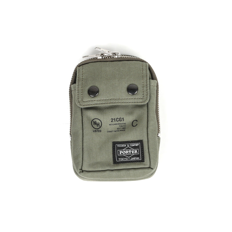 Neighborhood NHPT Multi Pouch Case Olive Drab