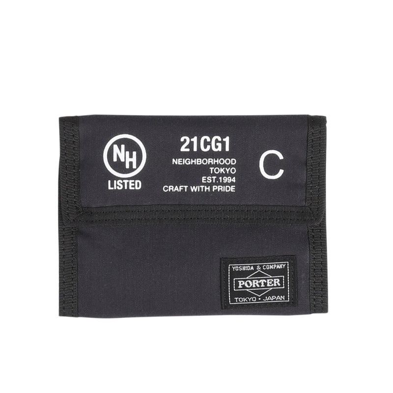 Neighborhood NHPT Wallet Black