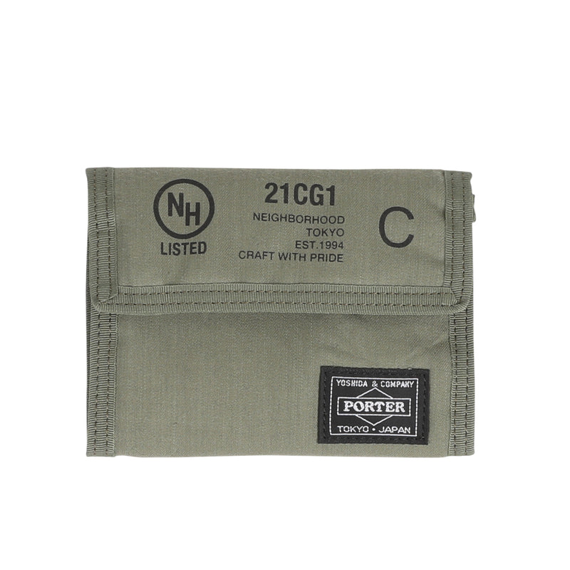 Neighborhood NHPT Wallet Olive Drab