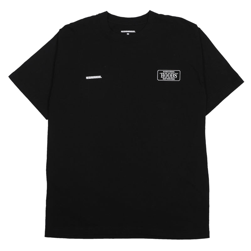 Neighborhood Hoods T-Shirt Black