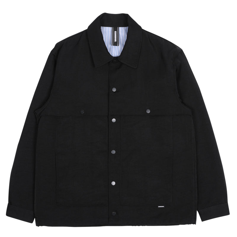 Neighborhood Split Jacket Black