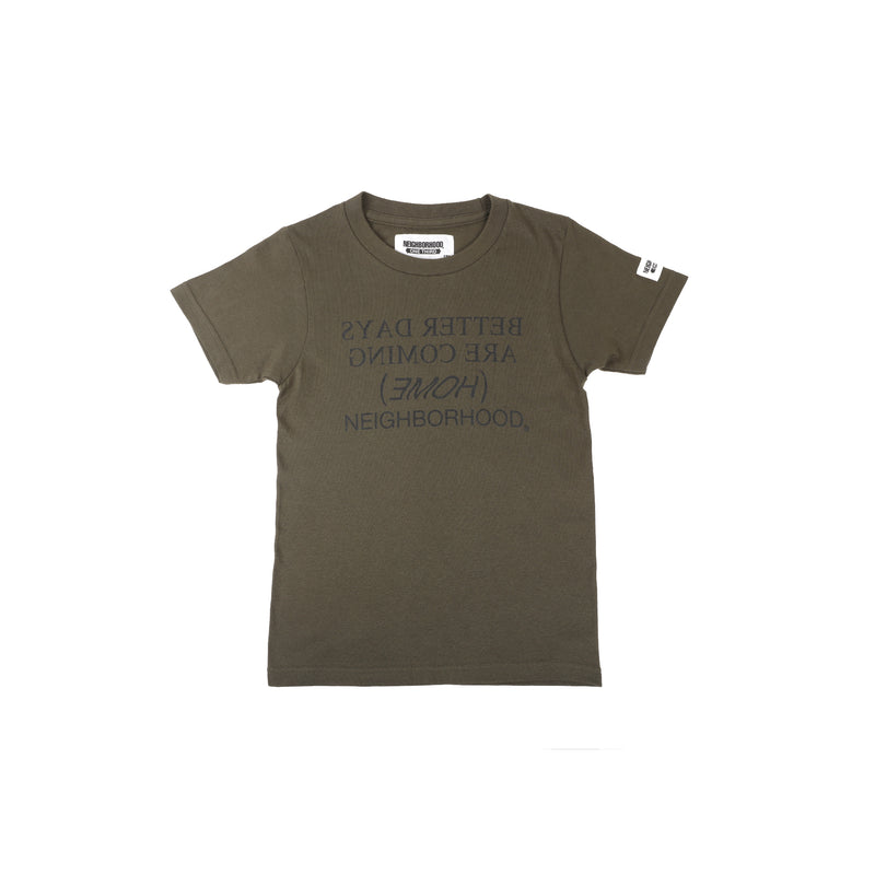 Neighborhood One Third Home T-Shirt Olive Drab