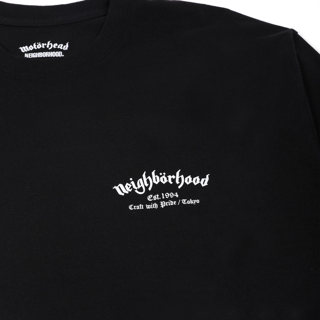 Neighborhood x Motorhead NHMH-2 Long Sleeve T-Shirt Black