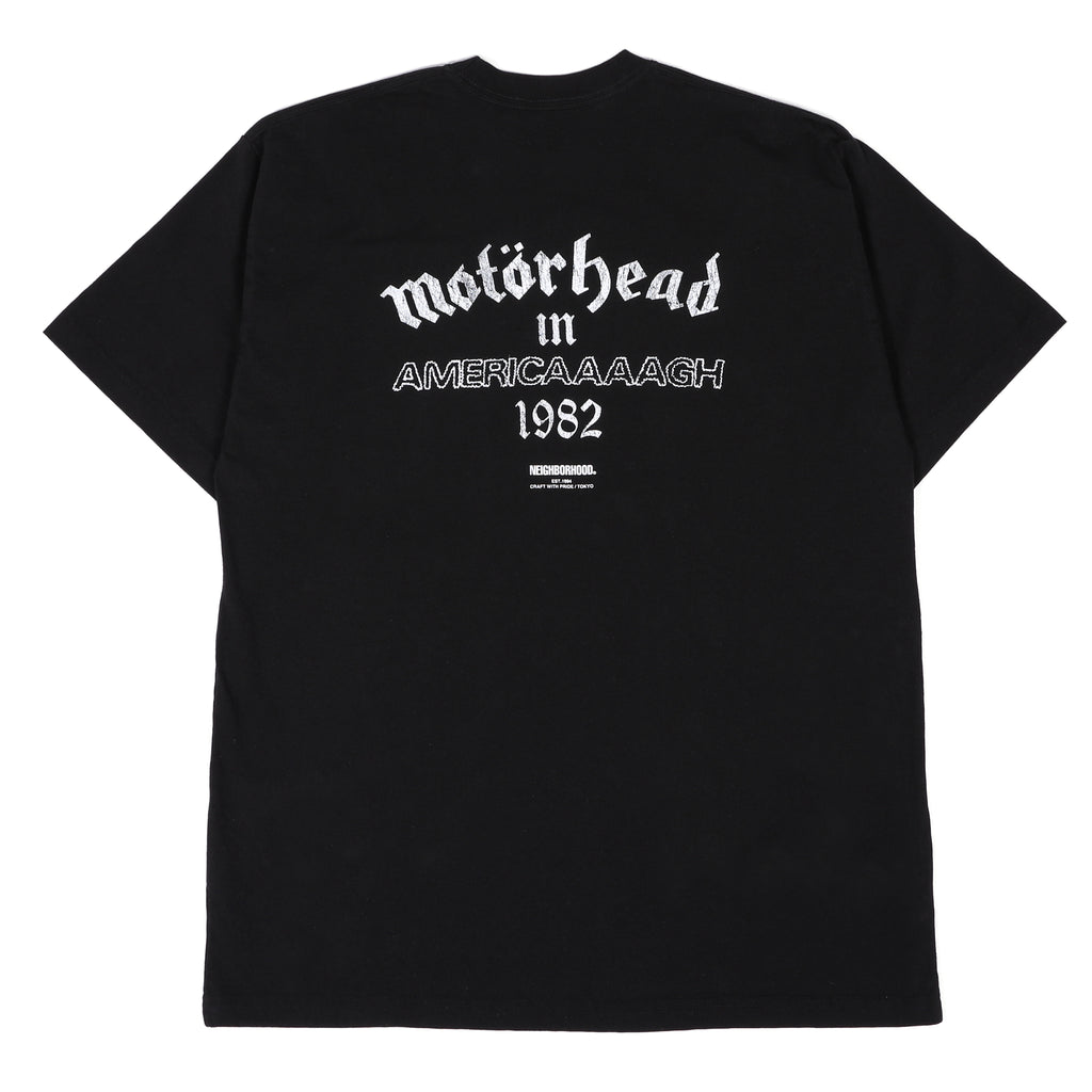Neighborhood x Motorhead NHMH-2 T-Shirt Black