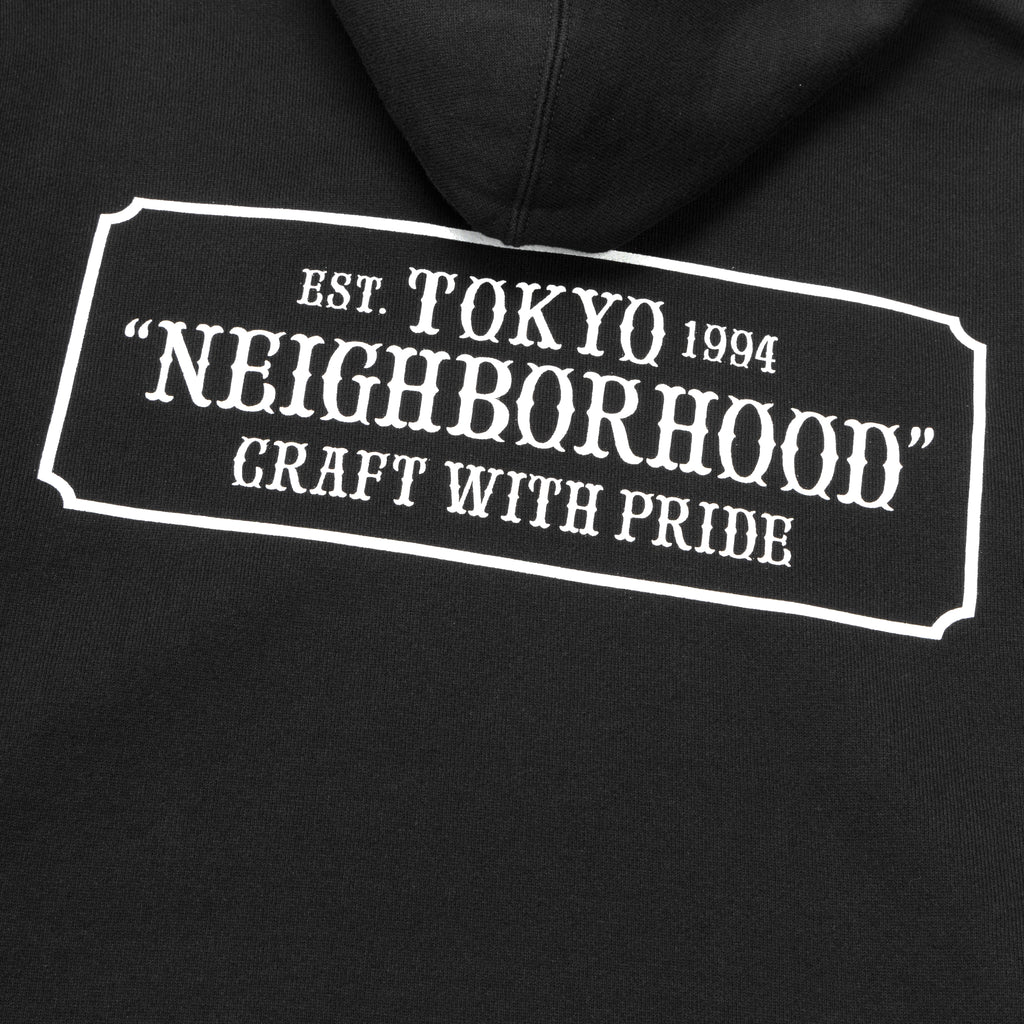 Neighborhood Classic-S Hooded Sweatshirt Black
