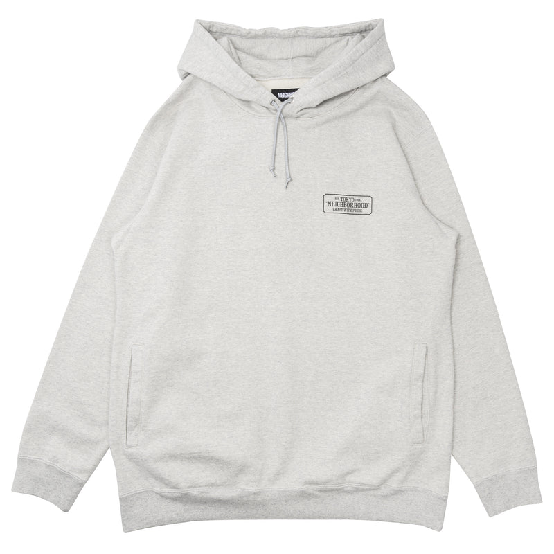 Neighborhood Classic-S Hooded Sweatshirt Gray