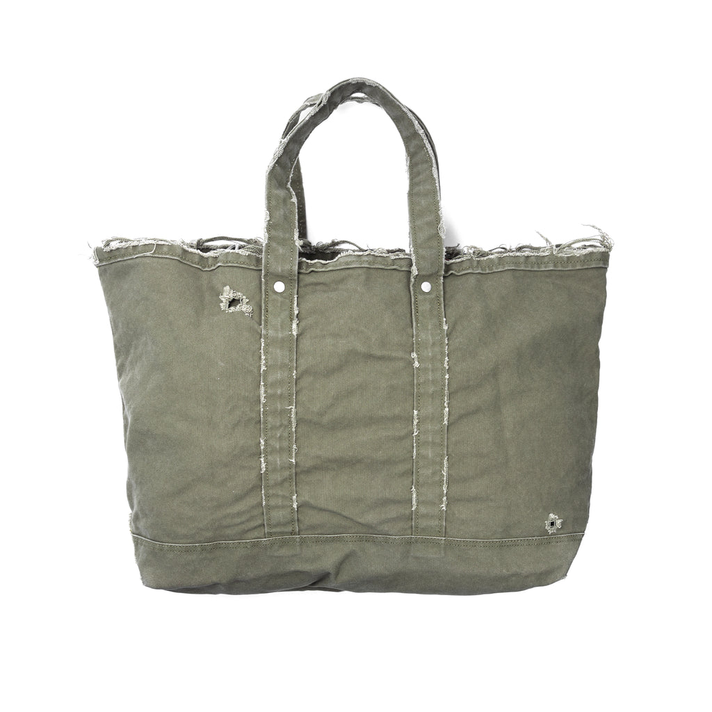 Neighborhood Damage Tote-S Bag Olive Drab