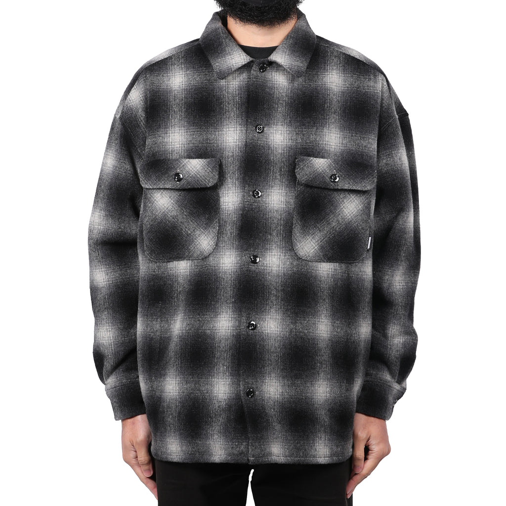 Neighborhood Fade Overshirt Black