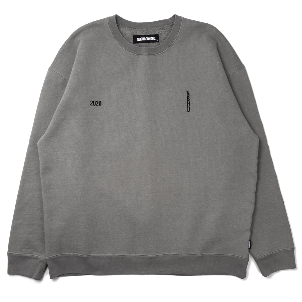 Neighborhood Heavys Crewneck Sweatshirt Gray