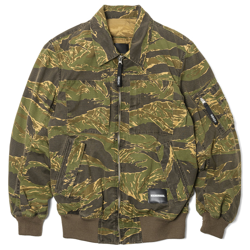 Neighborhood Helicrew Jacket Tiger Stripe