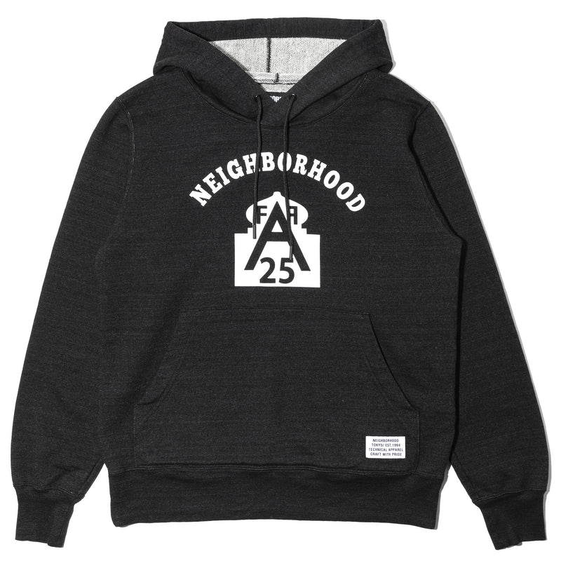 Neighborhood ID-A25 Hooded Sweater Black