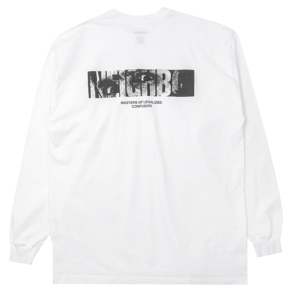 Neighborhood In My Eyes L/S T-Shirt White