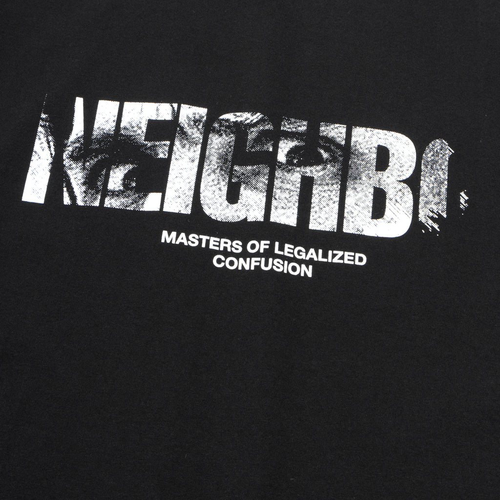 Neighborhood In My Eyes T-Shirt Black