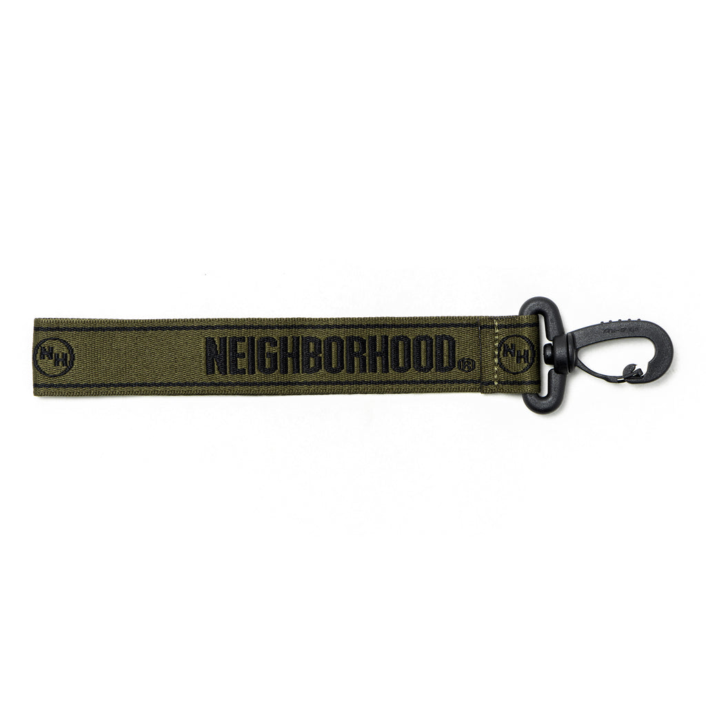 Neighborhood JQ Logo E-Keyholder Olive Drab