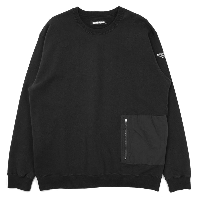 Neighborhood Light-S Crewneck Sweatshirt Black