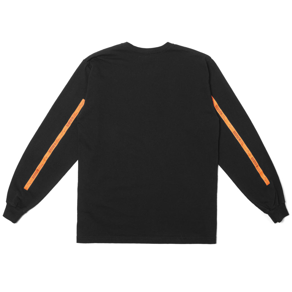 Neighborhood Line Long Sleeve Tee Black