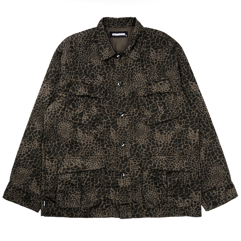 Neighborhood Mil-Cargo L/S Shirt Camo