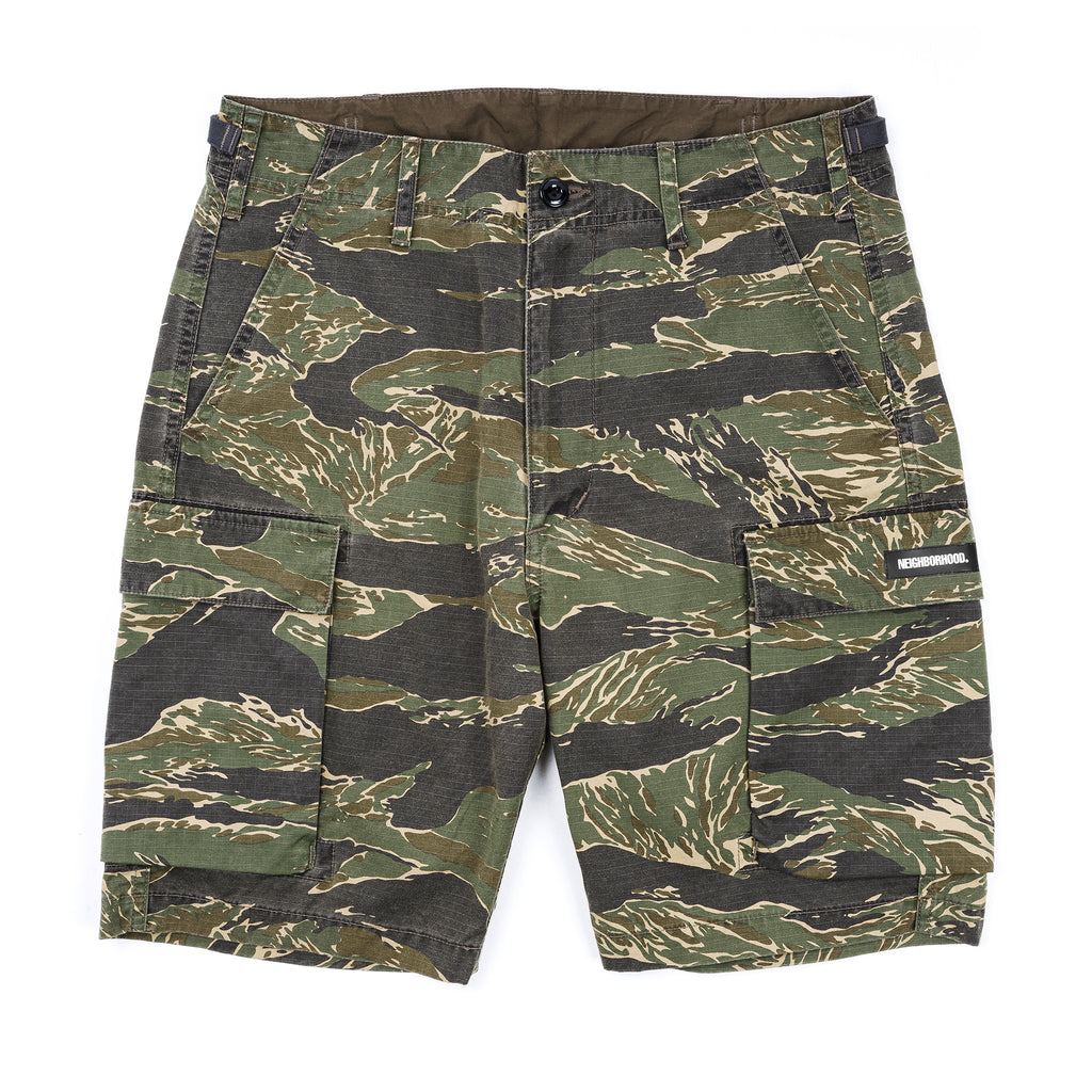 Neighborhood Mil-Tiger Shorts Tiger Stripe