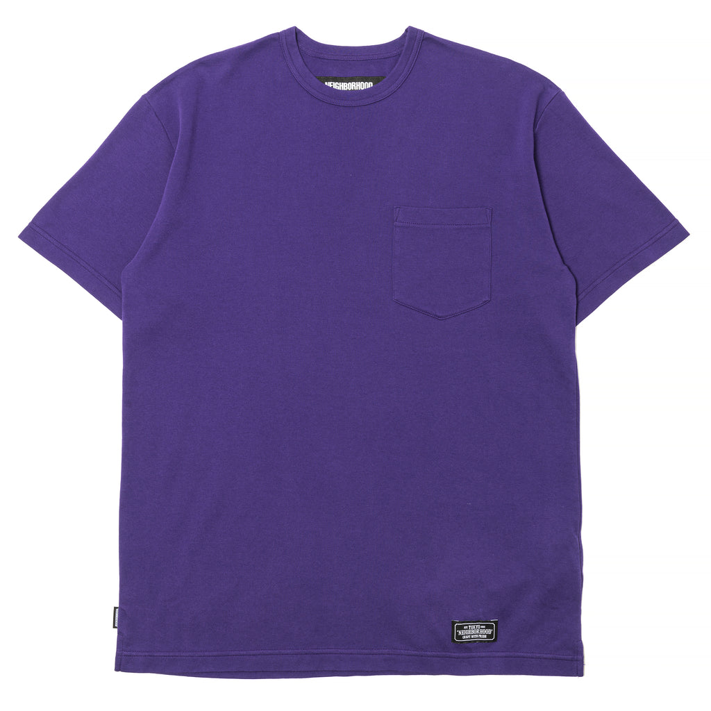 Neighborhood Smooth T-Shirt Purple