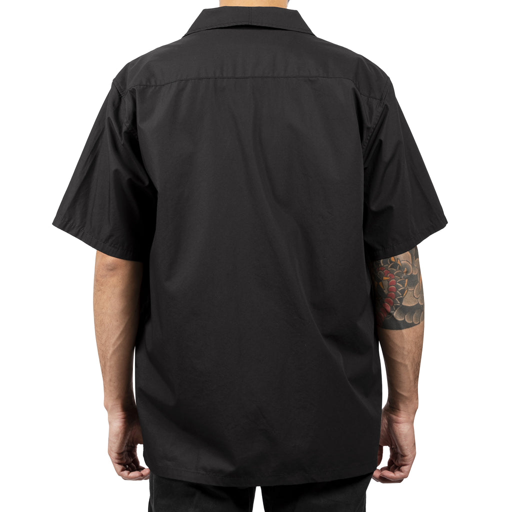 Neighborhood Stroke Short Sleeve Shirt Black