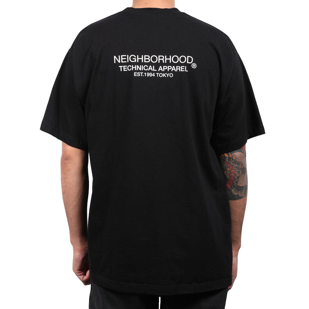 Neighborhood Surface T-Shirt Black