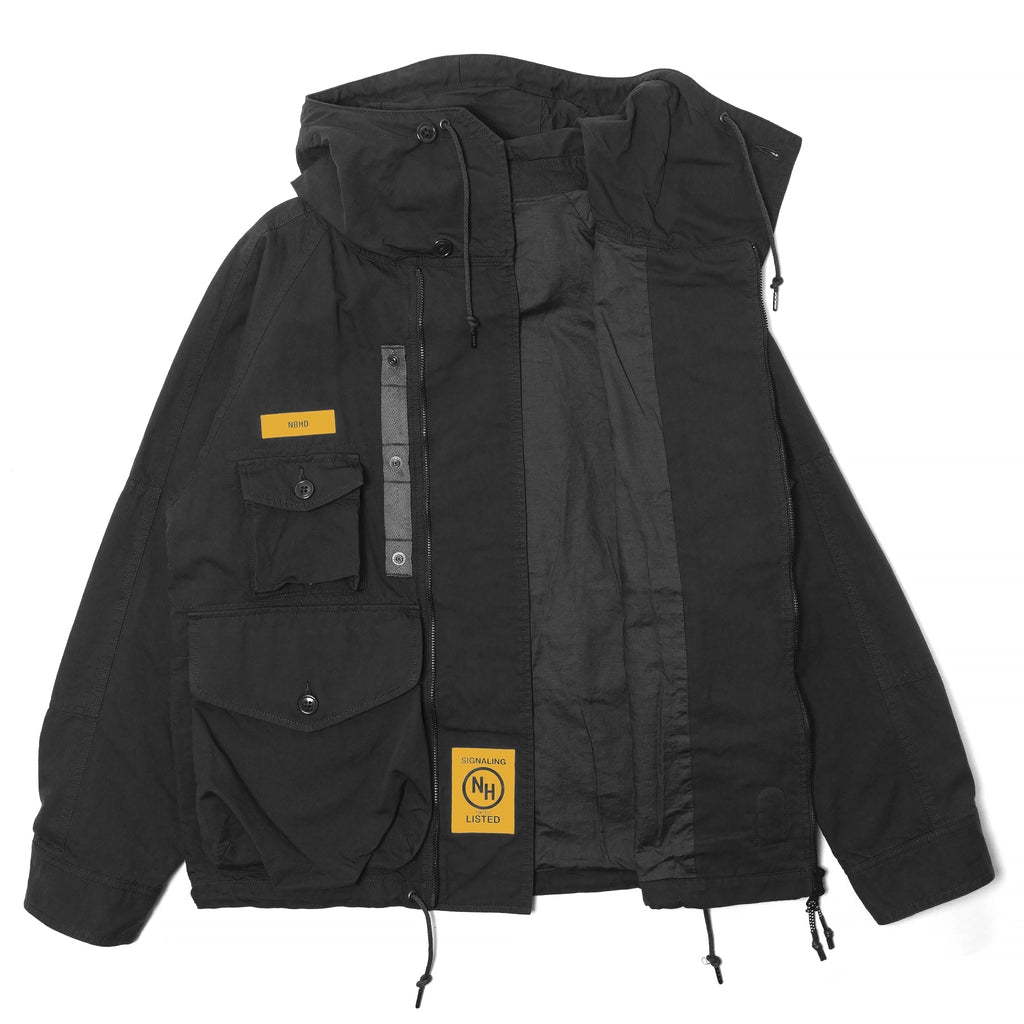 Neighborhood Tactical Smock Black